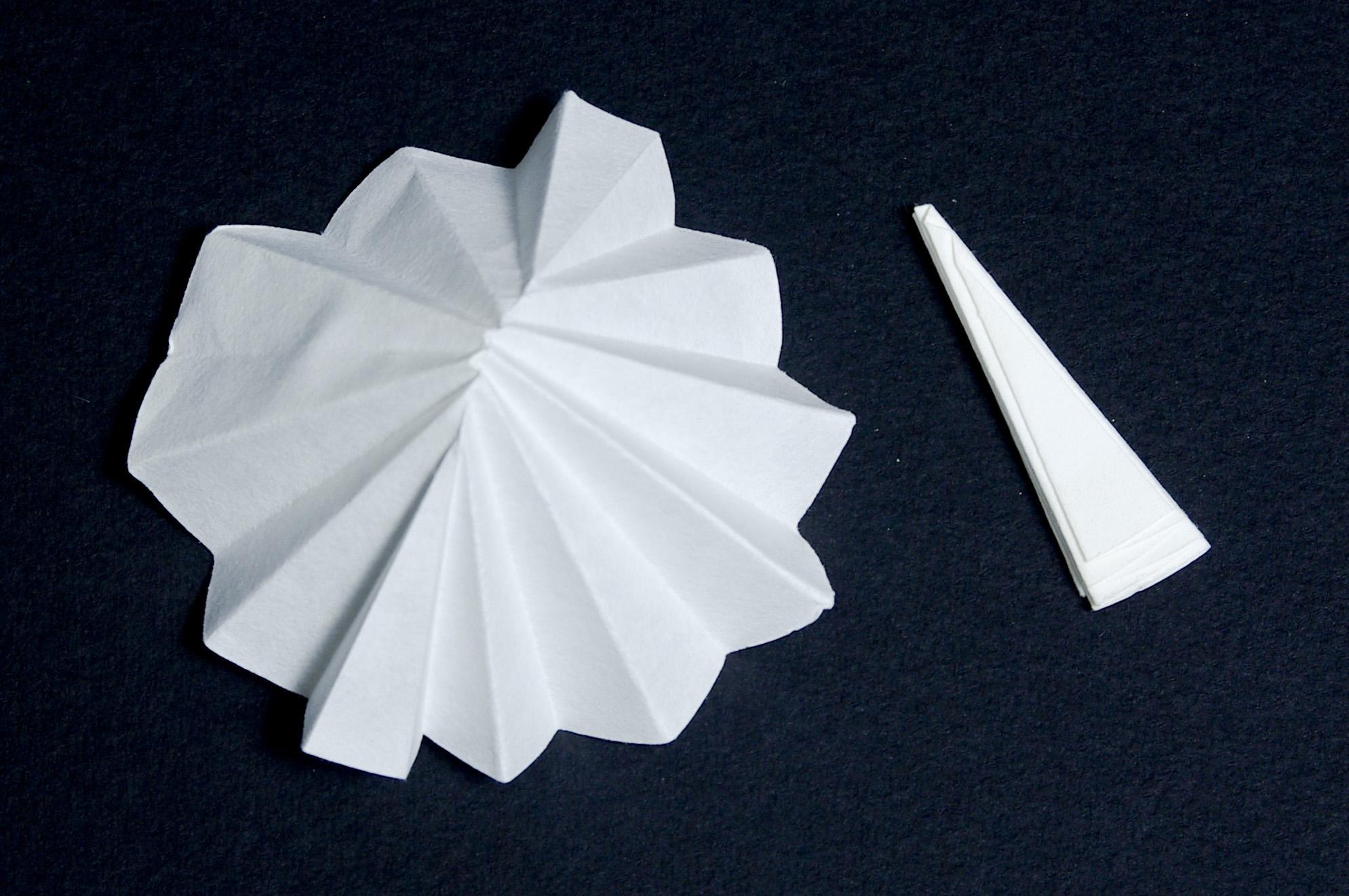 el papel filtro: