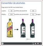 conversor alcohol