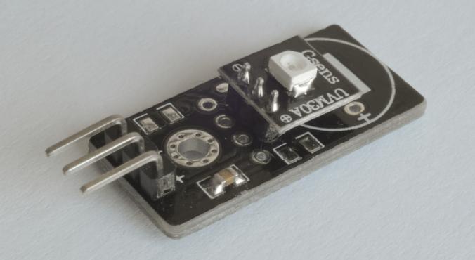 Módulo-UVM30A-ultravioleta-sensor-UV-Arduino-con-GUVA-S12SD